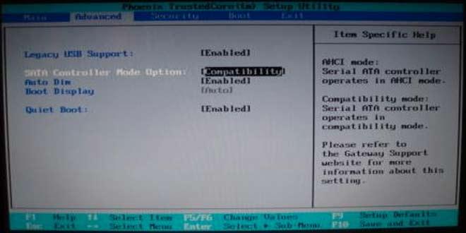 AHCI: Windows 7'de Kurulumdan Sonra Etkinleştirmek