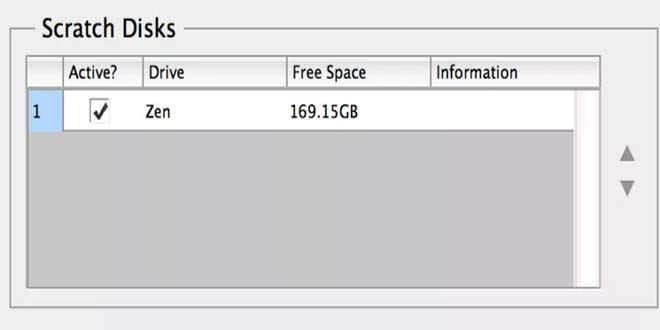 Use A Scratch Disk