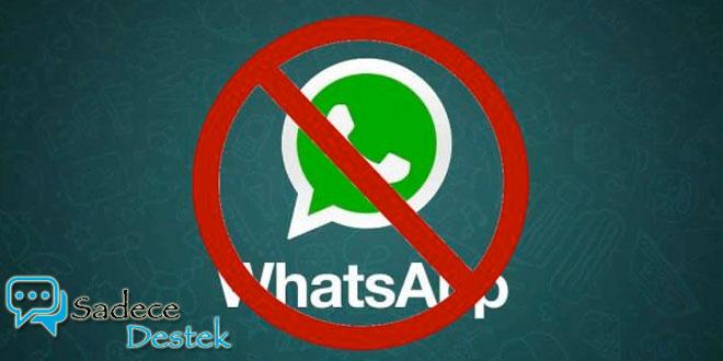 sadecedestek Brezilya'da WhatsApp Kullanımına Yasak Geldi!