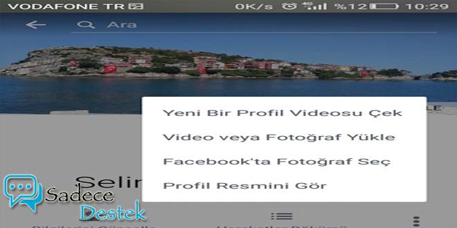 Facebook'ta Profil Videosu Nasıl Yapılır?