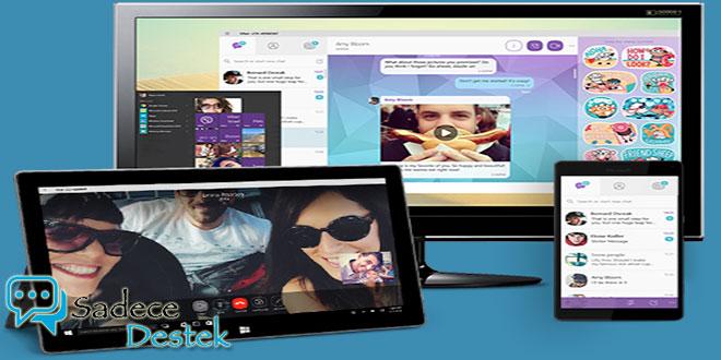 Viber, Windows 10 yüklü bilgisayarlara da geldi