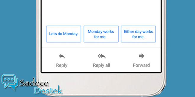 Akıllı Yanıt özelliği Gmail'in iOS ve Android uygulamalarına getirdi